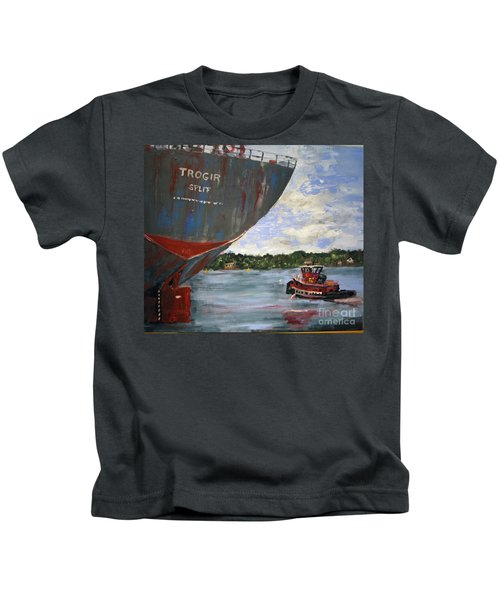 Off To Work Kids T-Shirt