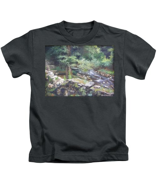 Old Mill Steam II Kids T-Shirt