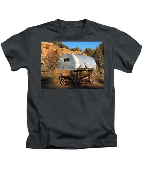 Old Sheepherder's Wagon Kids T-Shirt
