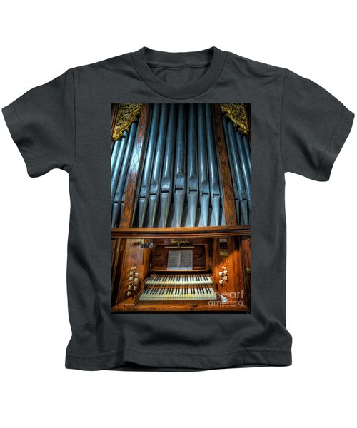Olde Church Organ Kids T-Shirt