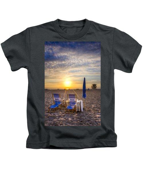 On The Beach Kids T-Shirt