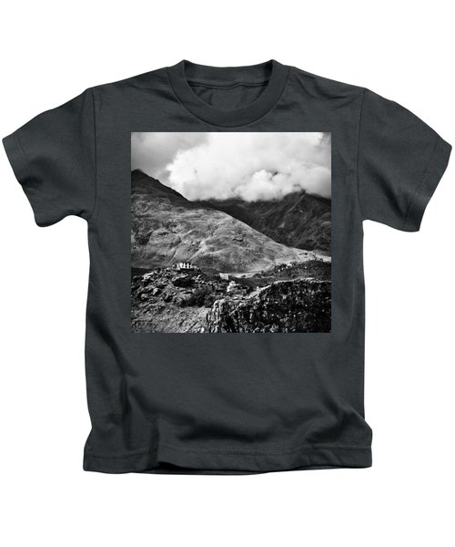 On The Mountainside Kids T-Shirt
