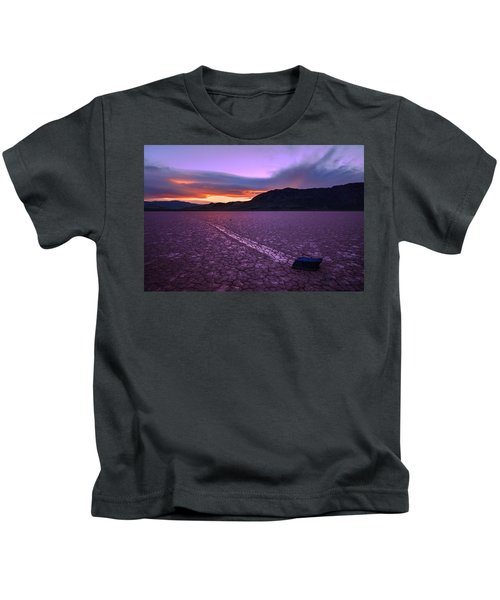 On The Playa Kids T-Shirt by Chad Dutson