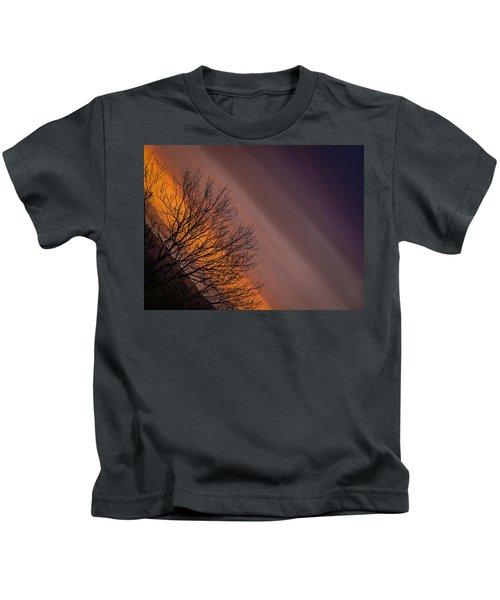 Orange Sunrise Kids T-Shirt