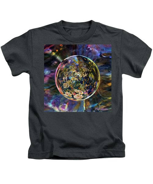 Orb Of Roses Past Kids T-Shirt