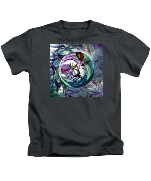 Orbiting Cranberry Dreams Kids T-Shirt