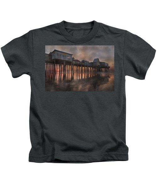 Orchard Beach Glorious Morning Kids T-Shirt