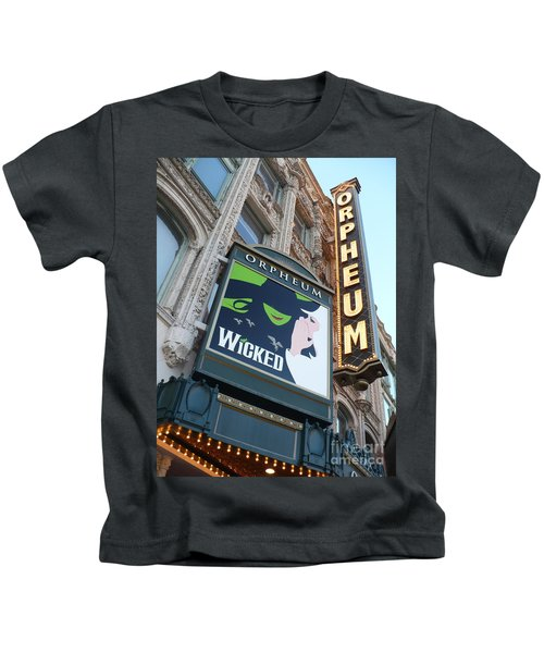 Orpheum Sign Kids T-Shirt