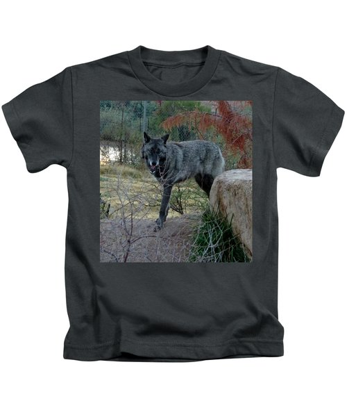 Out Of Africa Black Wolf Kids T-Shirt
