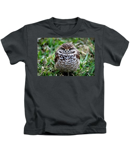 Owl. Best Photo Kids T-Shirt
