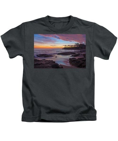 Painted Sky Laguna Beach Kids T-Shirt