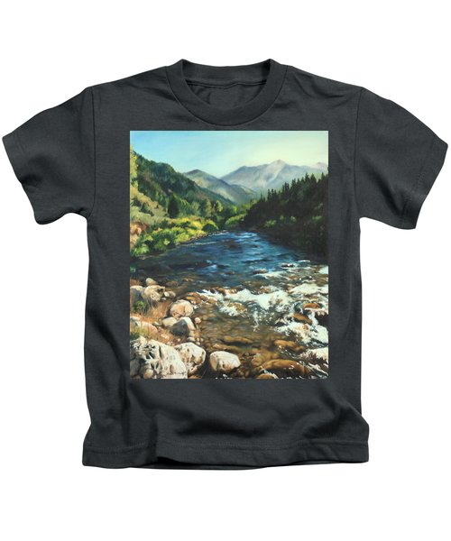 Palisades Creek  Kids T-Shirt