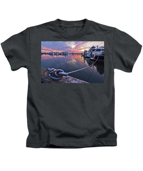 Palm Beach Harbor Kids T-Shirt
