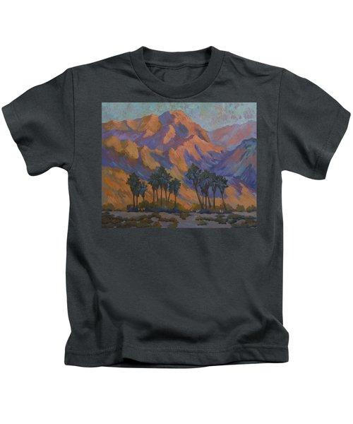 Palm Oasis At La Quinta Cove Kids T-Shirt
