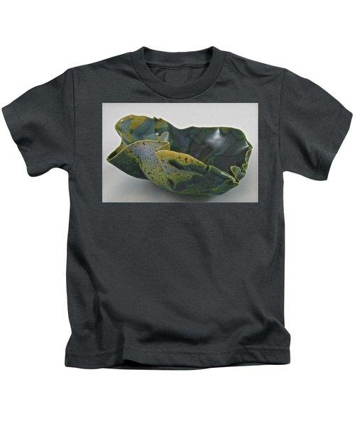 Paper-thin Bowl 09-015 Kids T-Shirt