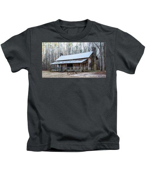 Park Ranger Cabin Kids T-Shirt