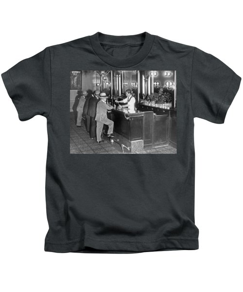Patrons At A Speakeasy In Sf Kids T-Shirt