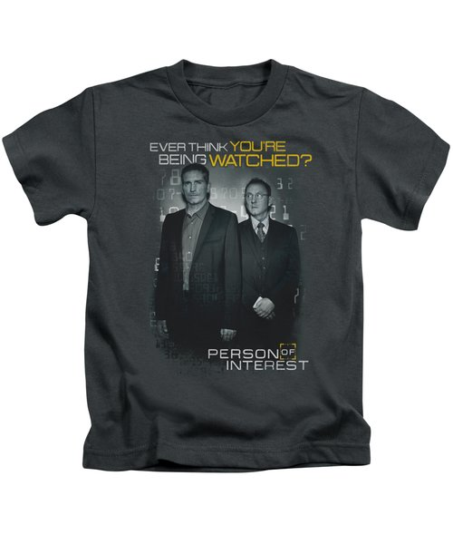 Person Of Interest - Watched Kids T-Shirt by Brand A