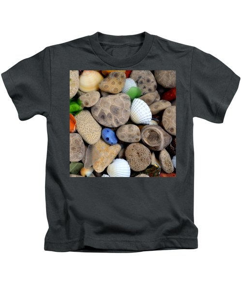 Petoskey Stones V Kids T-Shirt