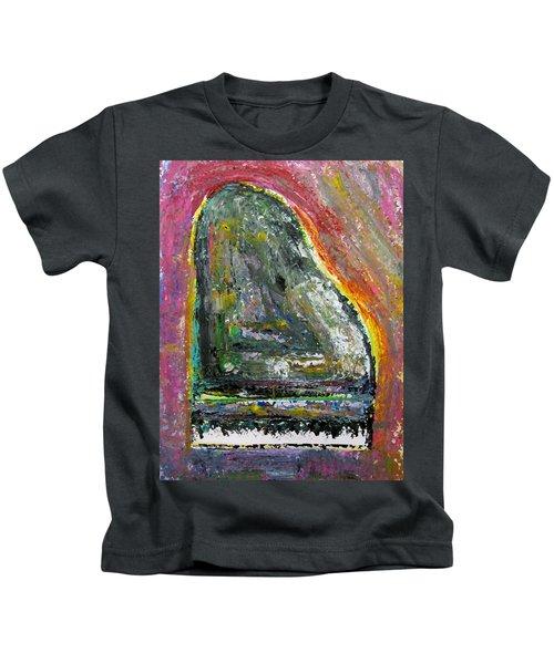 Piano Red Kids T-Shirt
