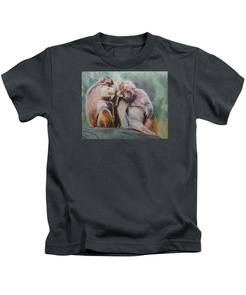 Pick Your Friends Carefully  Kids T-Shirt