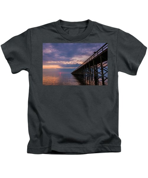 Pier To The Horizon Kids T-Shirt