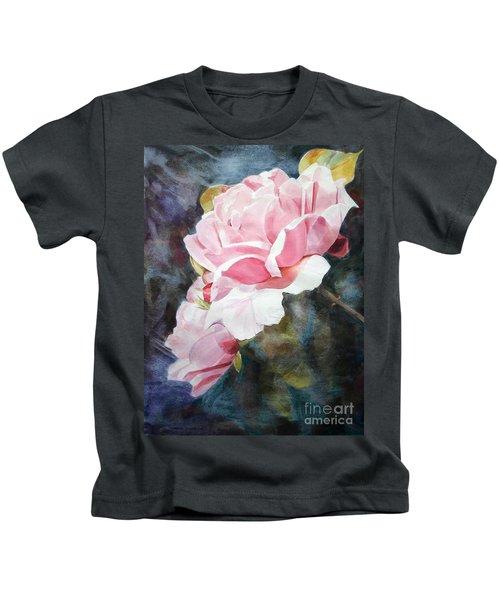 Pink Rose Caroline Kids T-Shirt