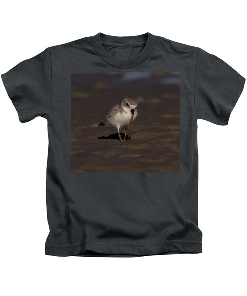Piping Plover Photo Kids T-Shirt