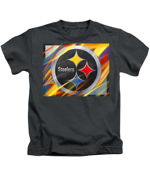 Pittsburgh Steelers Football Kids T-Shirt