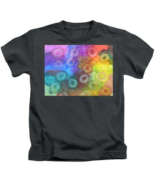Polychromatic Rbc's Kids T-Shirt