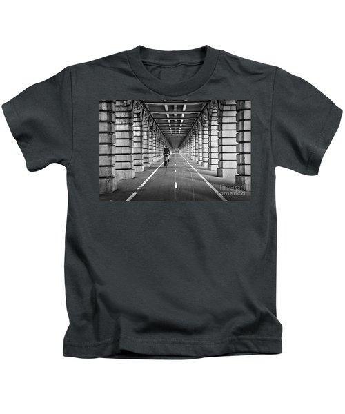 Pont De Bercy Kids T-Shirt