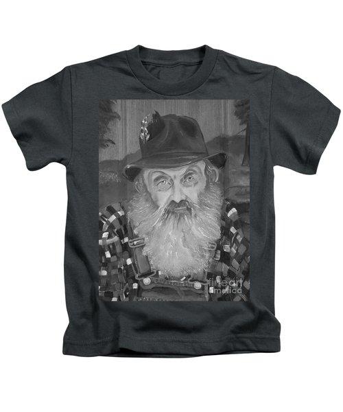 Popcorn Sutton - Jam - Moonshine Kids T-Shirt
