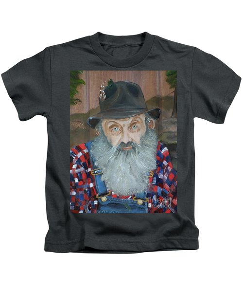 Popcorn Sutton - Moonshiner - Portrait Kids T-Shirt
