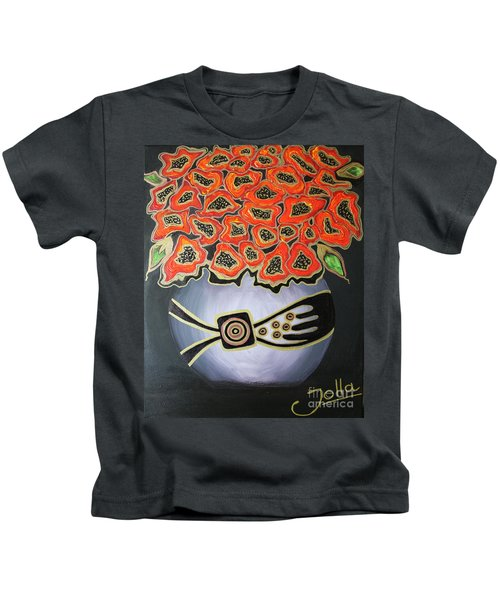 Poppies Revisited.. Kids T-Shirt