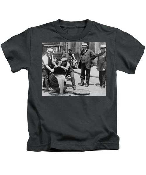 Prohibition In The Usa Kids T-Shirt