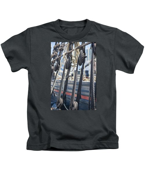 Pulley And Stay Kids T-Shirt