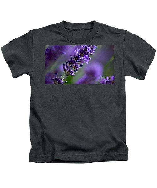 Purple Nature - Lavender Lavandula Kids T-Shirt
