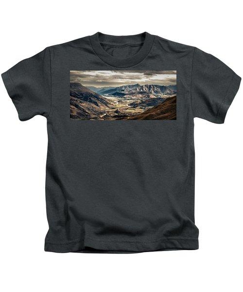 Queenstown View Kids T-Shirt