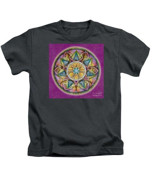 Radiant Health Mandala Kids T-Shirt