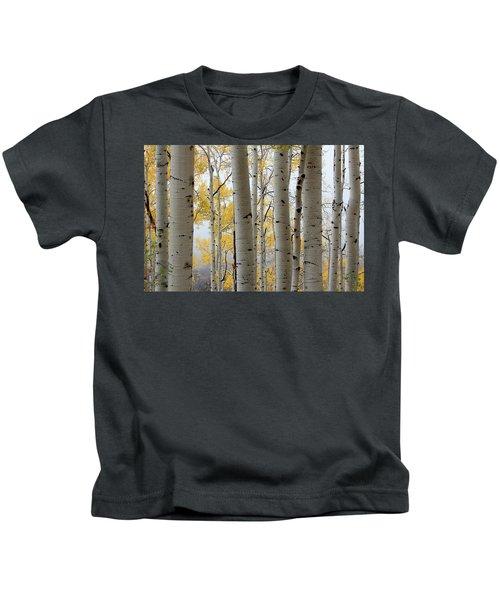Rainy Day Aspen  Kids T-Shirt