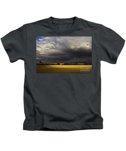 Rapefield Under Dark Sky Kids T-Shirt
