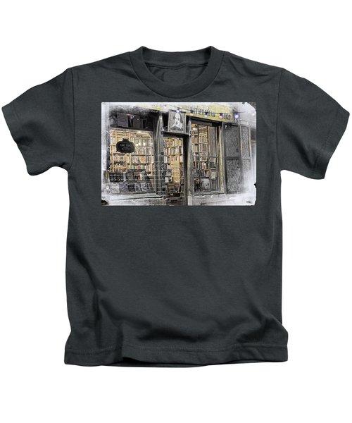 Rare Books Latin Quarter Paris France Kids T-Shirt