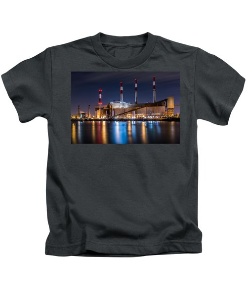 Ravenswood Generating Station Kids T-Shirt