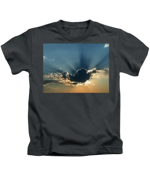 Rays Of Light Kids T-Shirt