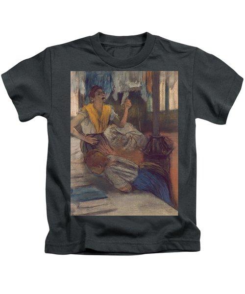 Reading A Letter Kids T-Shirt