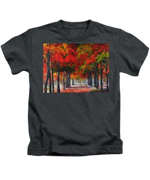 Red Alley II Kids T-Shirt