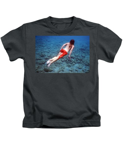 Red And Blue Kids T-Shirt