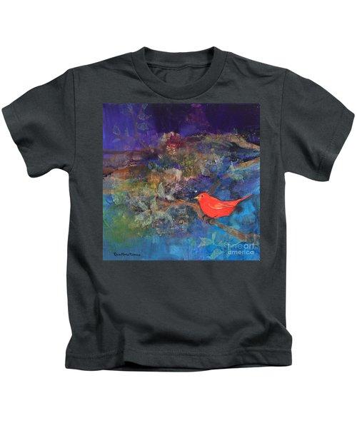 Red Bird Kids T-Shirt