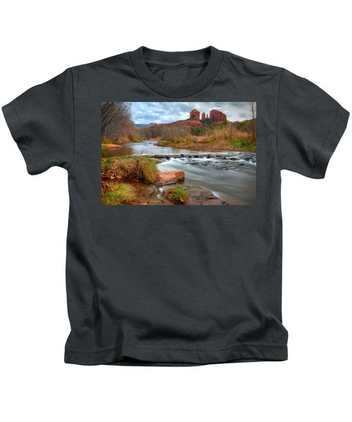 Red Rock Crossing Kids T-Shirt