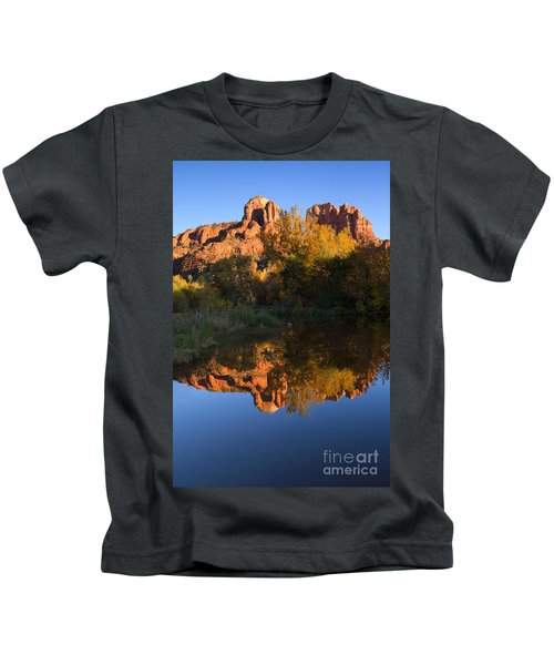 Red Rock Reflections Kids T-Shirt